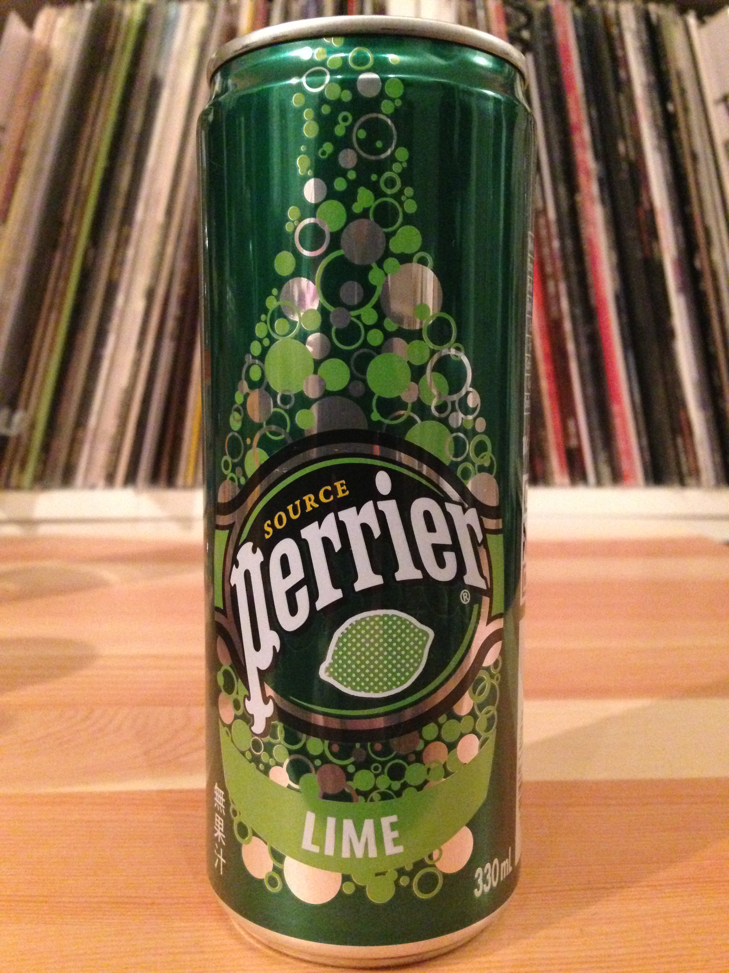 Perrier Lime 330缶 ライムフレーバー
