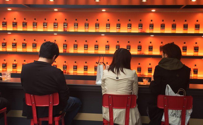 トリスクラシック(Torys Classic)の期間限定バーでジャパニーズウイスキーの文化史に触れてきました