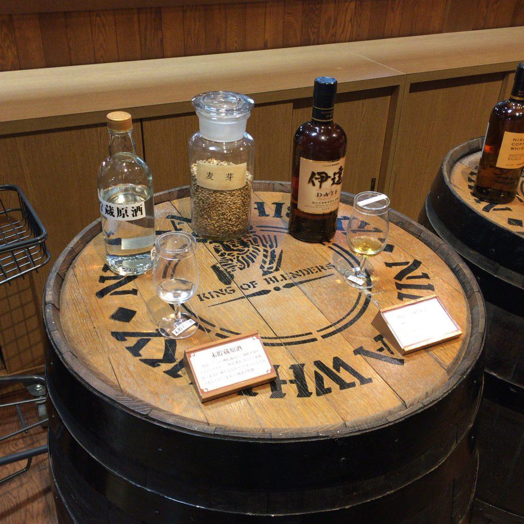 香りだけ無料でテストできるブースは有料試飲コーナーにあります。