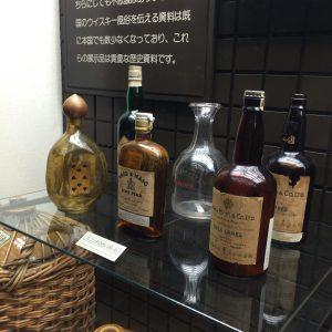 ウイスキー博物館の展示も、ウイスキーファンなら間違いなく楽しめる。
