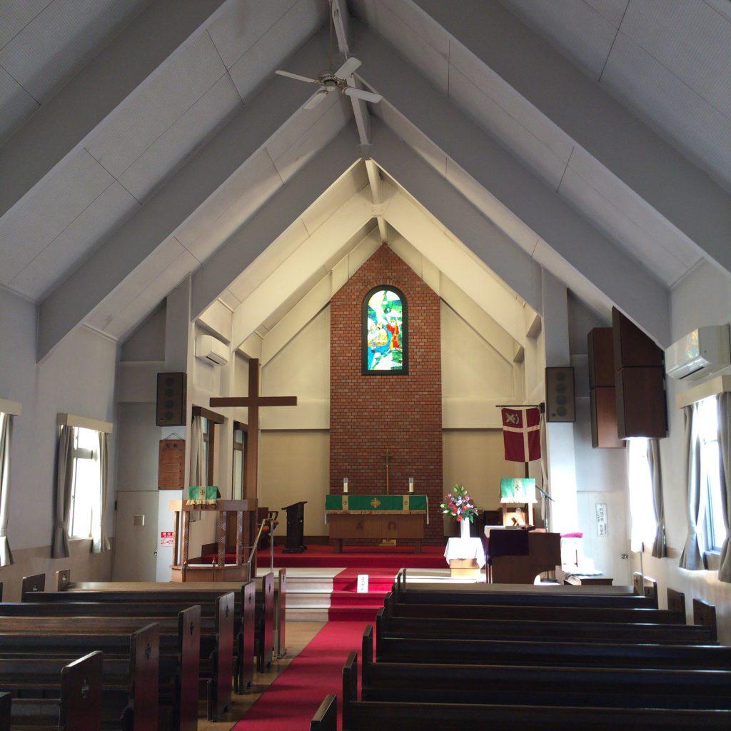 桃山学院大学に併設されたチャペル「聖アンドレ」。竹鶴とリタもここで祈りを捧げていたことだろう。
