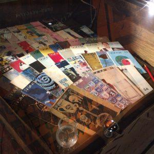 白州のウイスキー博物館に蔵されている『洋酒天国』。トリスバーには必ずおいてあった。