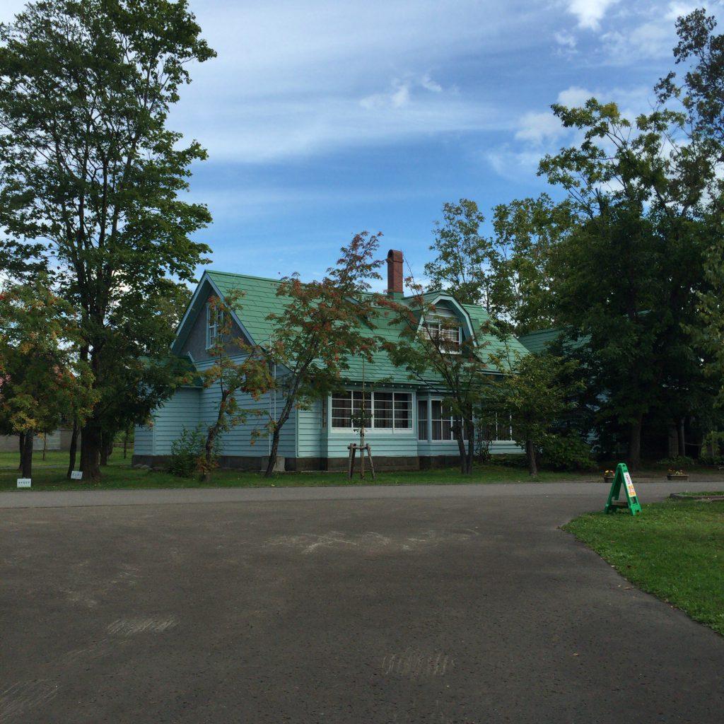 余市蒸留所に移設された竹鶴政孝の自宅。実際の3分の1の広さになってしまった。