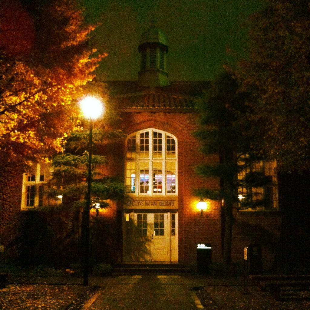 おなじく聖公会の立教大学。筆者の母校でもあり、縁を感じます。