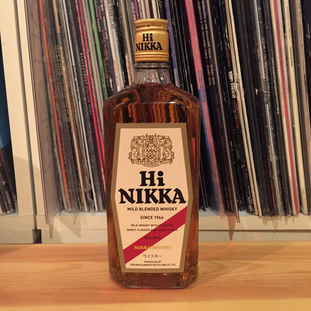 ハイニッカのボトル(2016年)。近年、初号ハイニッカに近づけてリデザインされた。
