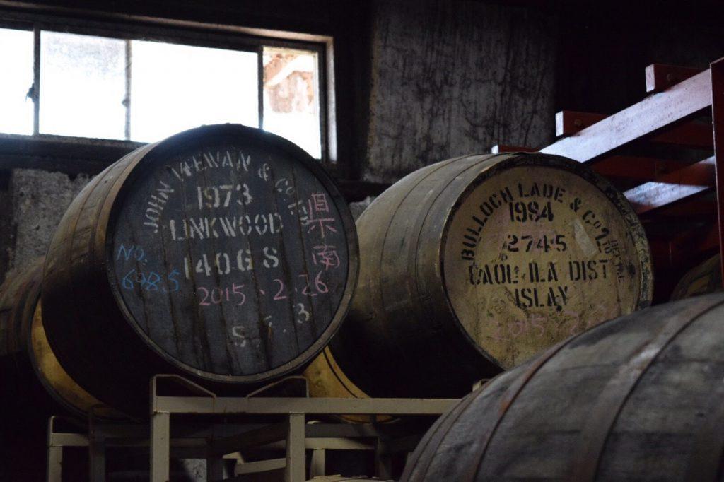 カリラとリンクウッドの樽。
