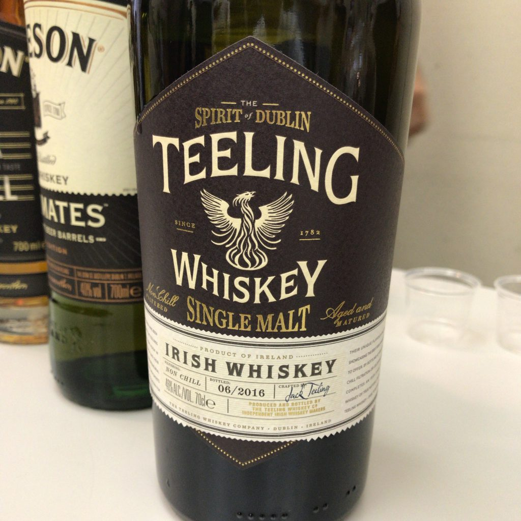 ティーリングのシングルモルト銘柄。原酒はグレートノーザンディスティラリー製かも。