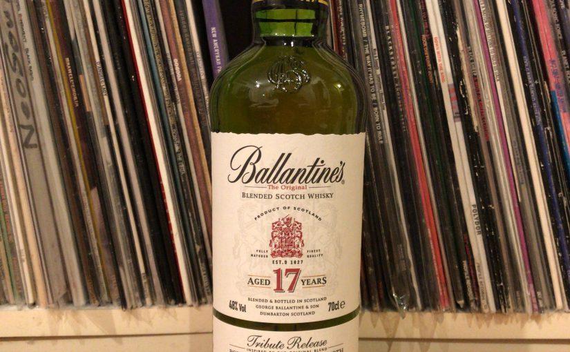 【日本限定発売】バランタイン17年・トリビュートリリース