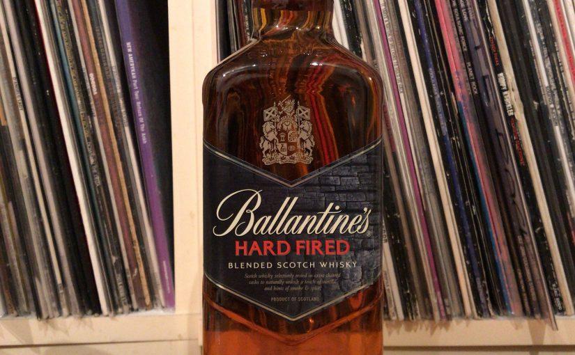 バランタイン・ハードファイヤードのボトル。