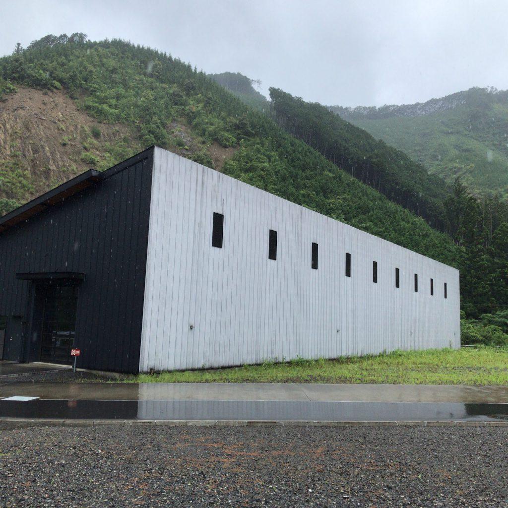 静岡蒸溜所の第2貯蔵庫