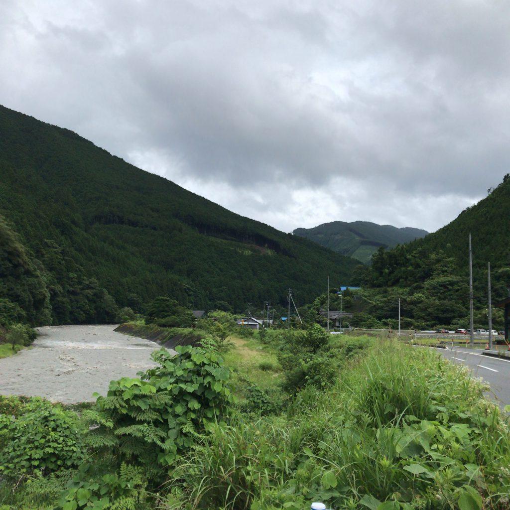 静岡の山々
